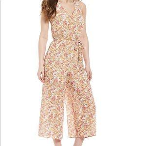 JUNE & HUDSON- Floral Print Jumpsuit